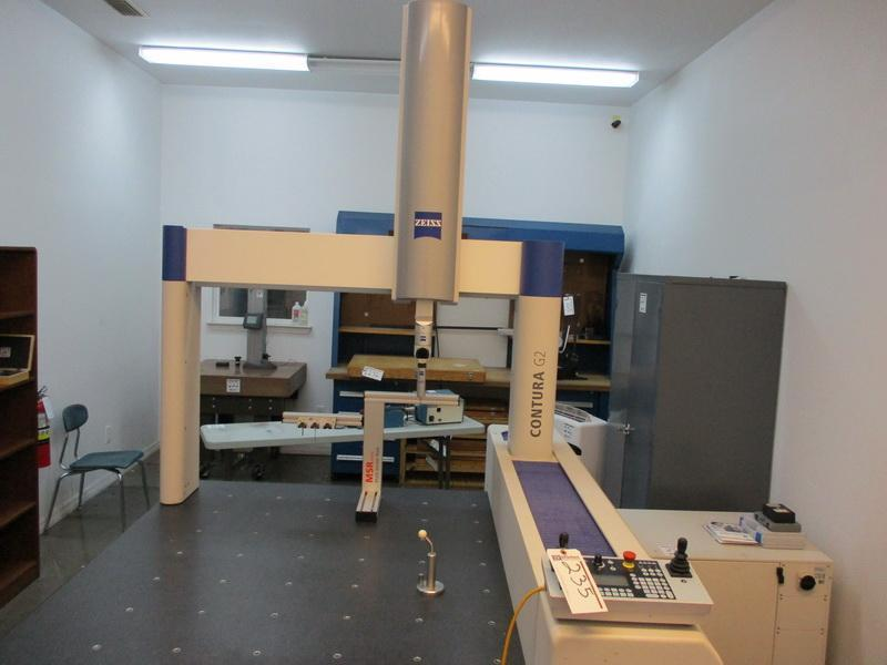 2007 Zeiss Contura G2 RDS 10/12/6 Coordinate Measuring Machine