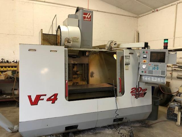 HAAS2000 Haas VF-4 CNC VMC