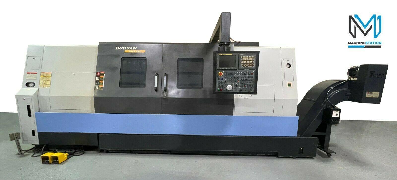 DOOSAN PUMA 400LB CNC TURNING CENTER