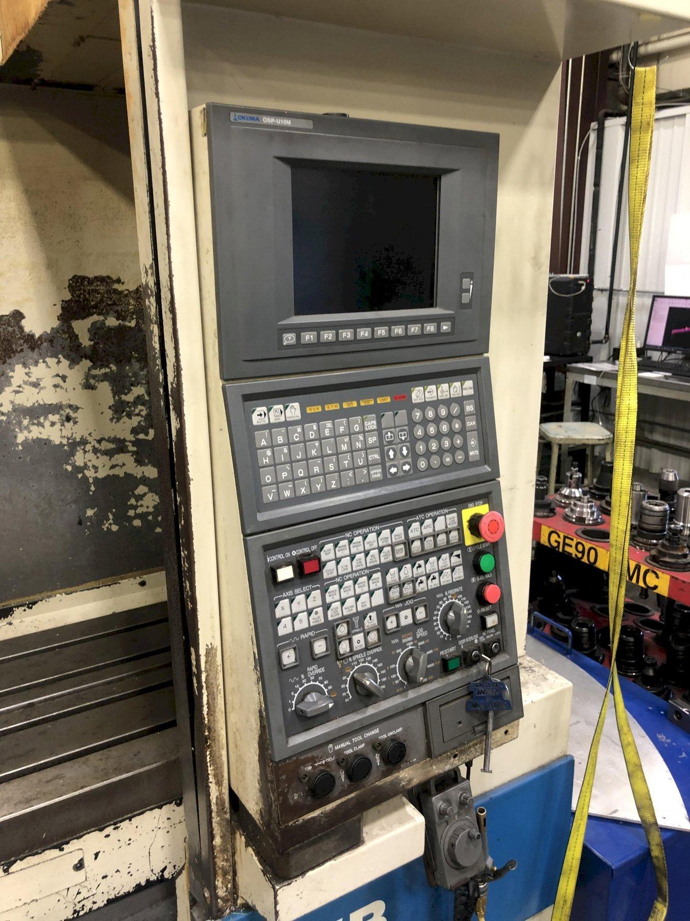 OKUMA MX55VB CNC VERTICAL MACHINING CENTER