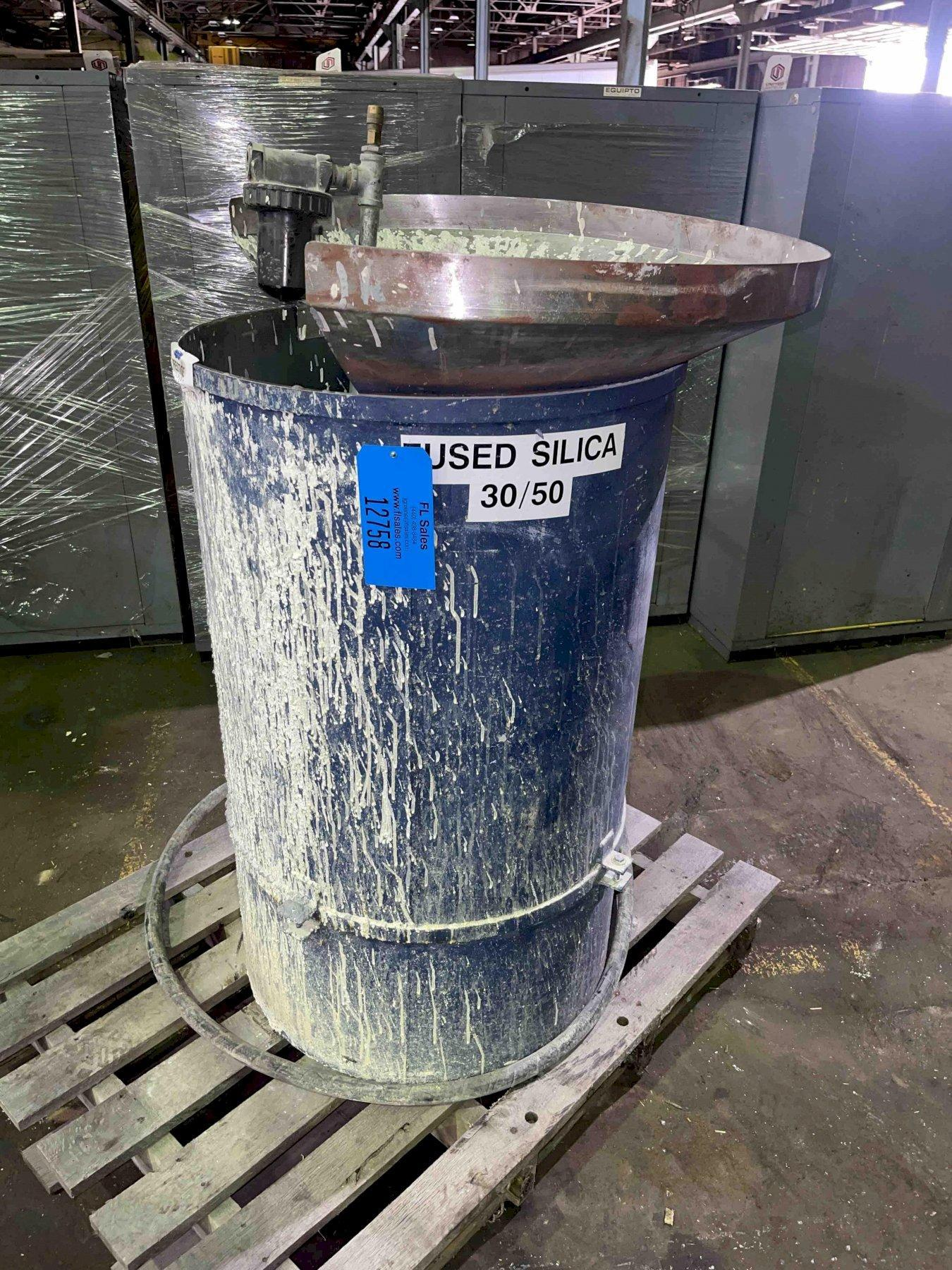 Fused Silica Air Dryer (fluidized sand bed) 40
