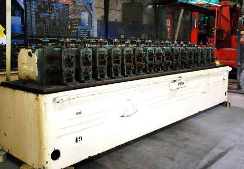 "(1) Used 16 Stand x 1-3/4"" x 10"" TISHKEN #16HMW 1-3/4 Rollformer"