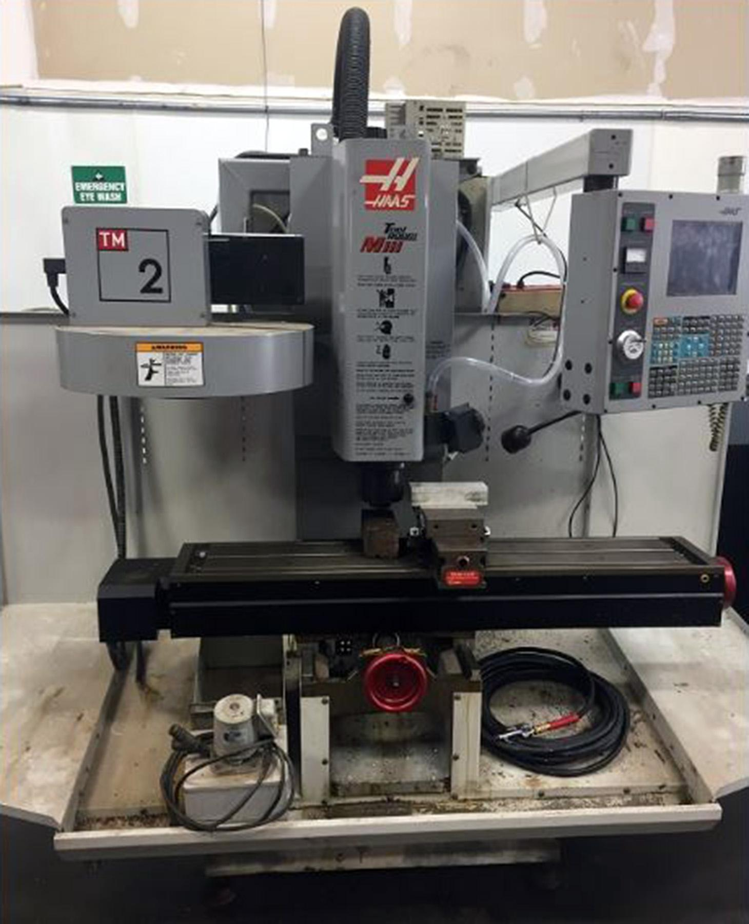 USED, HAAS TM-2 CNC VERTICAL MACHINING CENTER