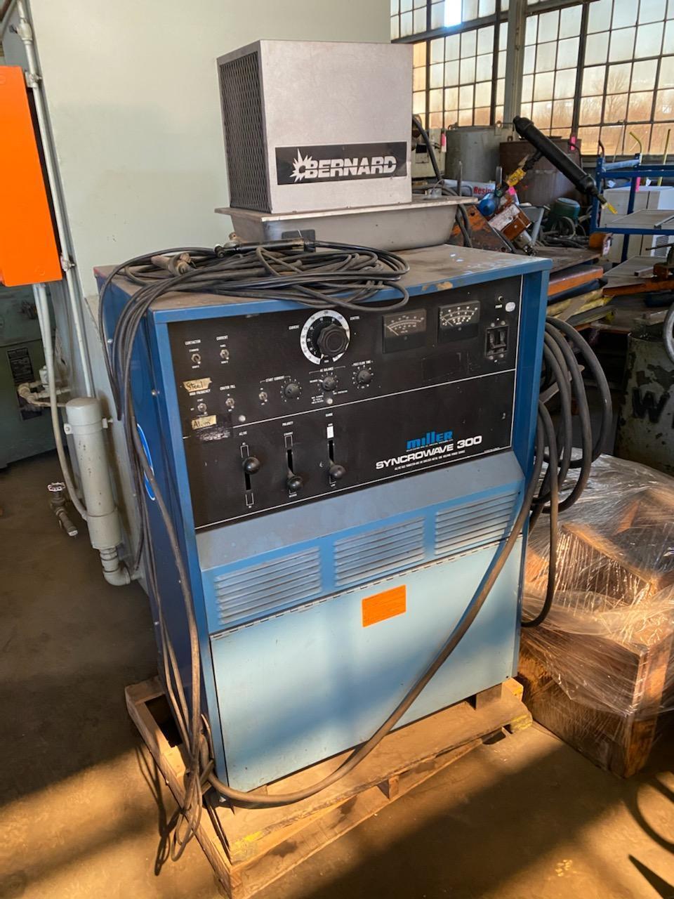 300 Amp Miller Syncrowave Welder