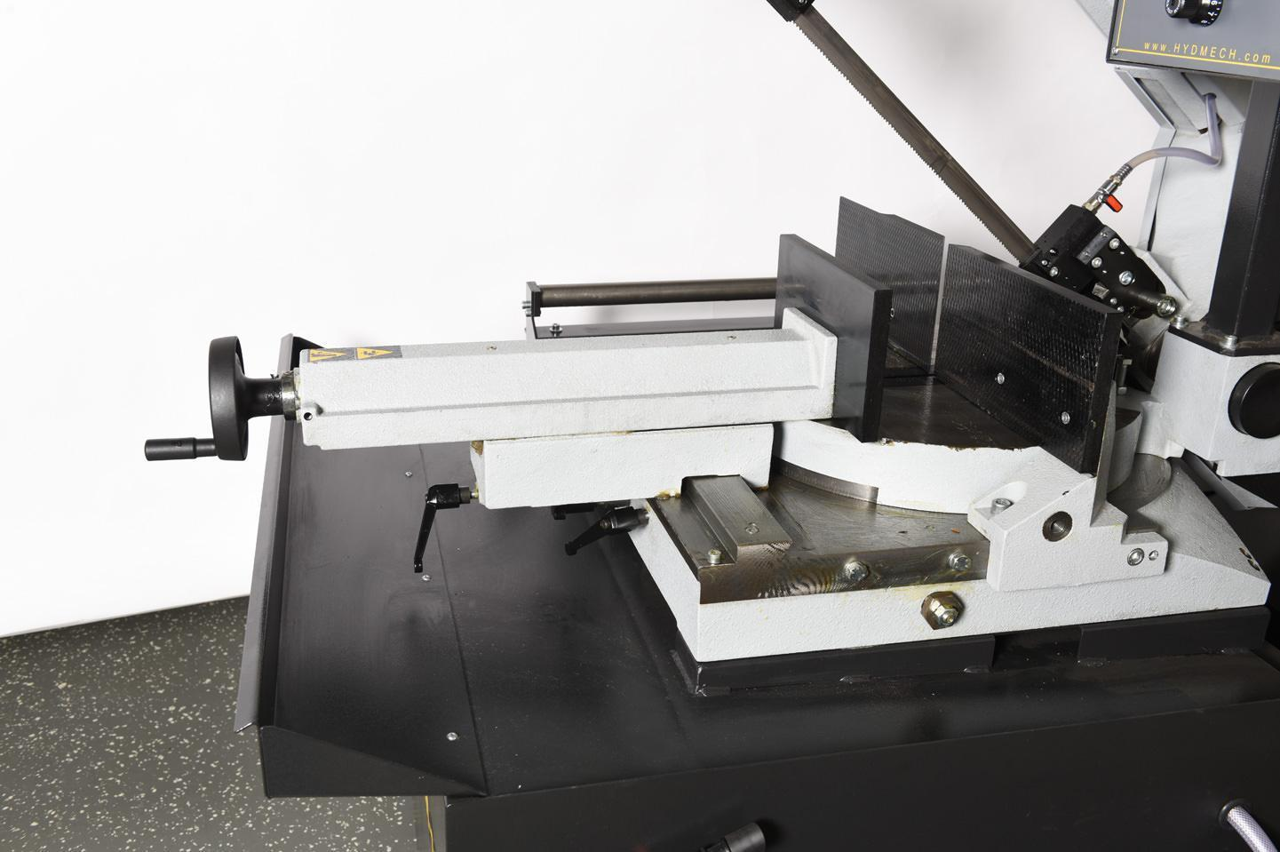 """NEW 10.25""""H x 15""""W HYD-MECH MODEL DM-1215 DOUBLE MITER BAND SAW"""