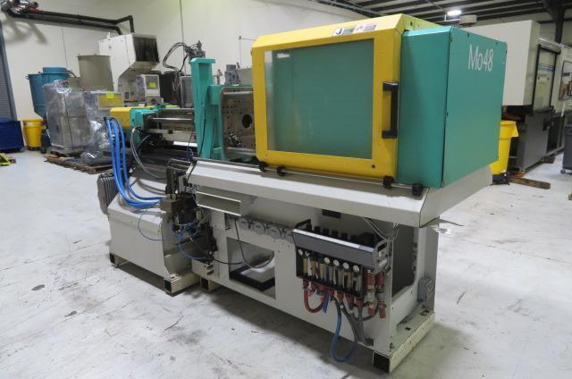 Arburg Used 320S-500-150 Injection Molding Machine, 55 US ton. Yr. 1997, 2.1 oz.