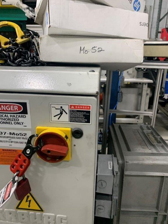 Arburg Used 420 C 1000-290 Injection Molding Machine, 110 US ton, Yr. 2010, 460V,  3.4 oz