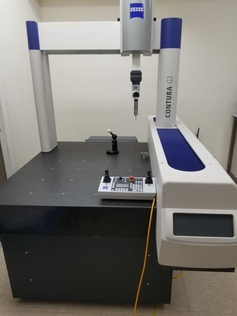 2012 Zeiss Contura G2 RDS 10/12/6 Coordinate Measuring Machine (CMM)
