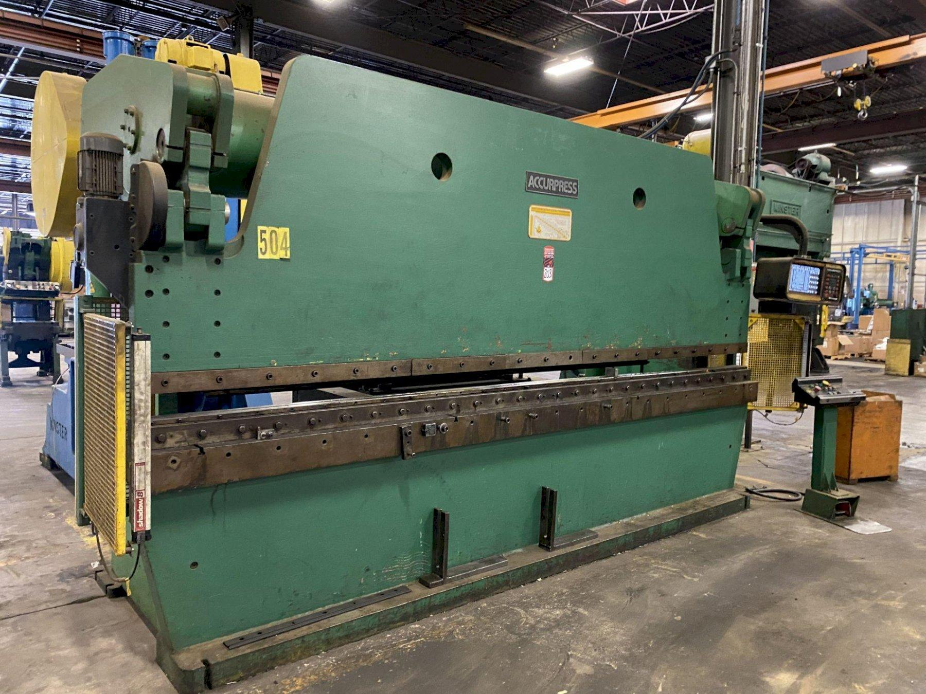 250 TON X 14' ACCURPRESS HYDRAULIC BRAKE