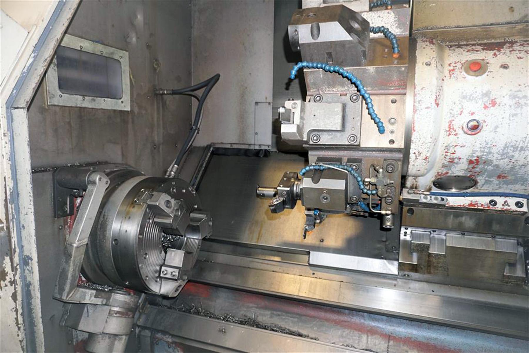 USED, MAZAK SLANT TURN 50NX-2000U CNC LATHE