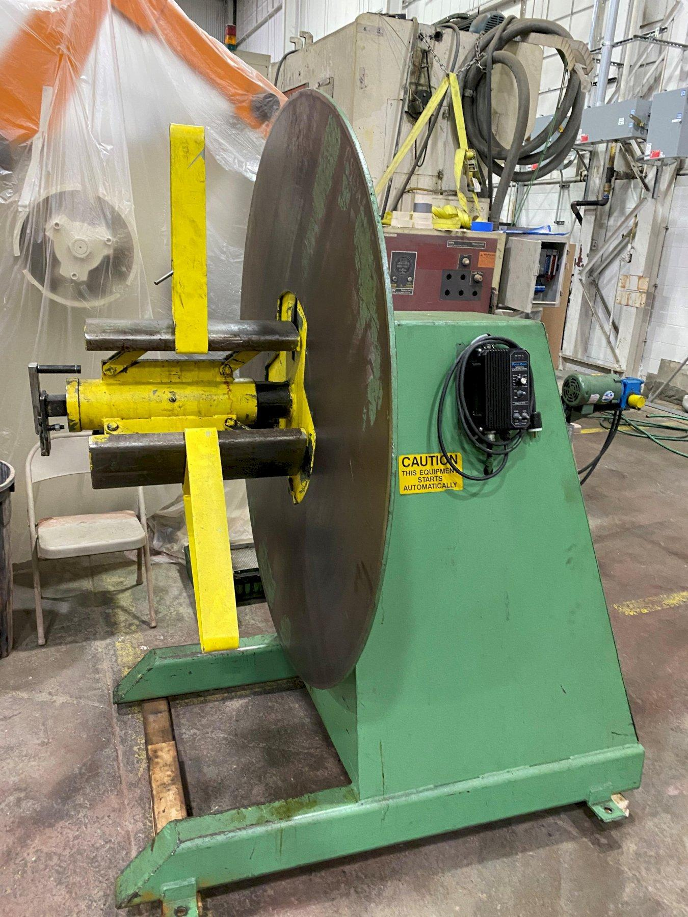 6000 LB COLT AUTOMATION POWER PAYOFF REEL