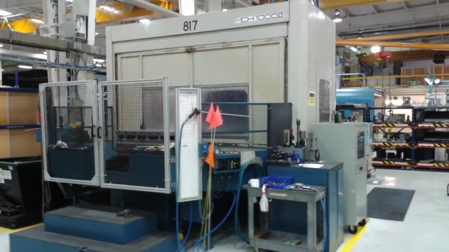 "OKK MCH-1000 CNC Horizontal Machining Center, Fanuc 16M, 63""/50""/40"" Travels, Full 4th Axis, 60 ATC, 4500 RPM, 50 Taper,  CTS, Chiller, C/C, 1998"