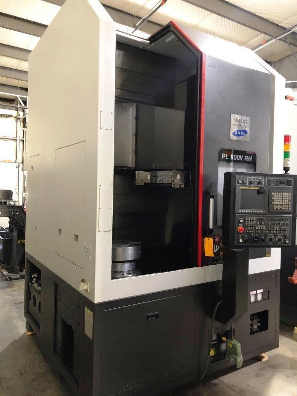 SAMSUNG PL800V CNC VERTICAL TURNING CENTER