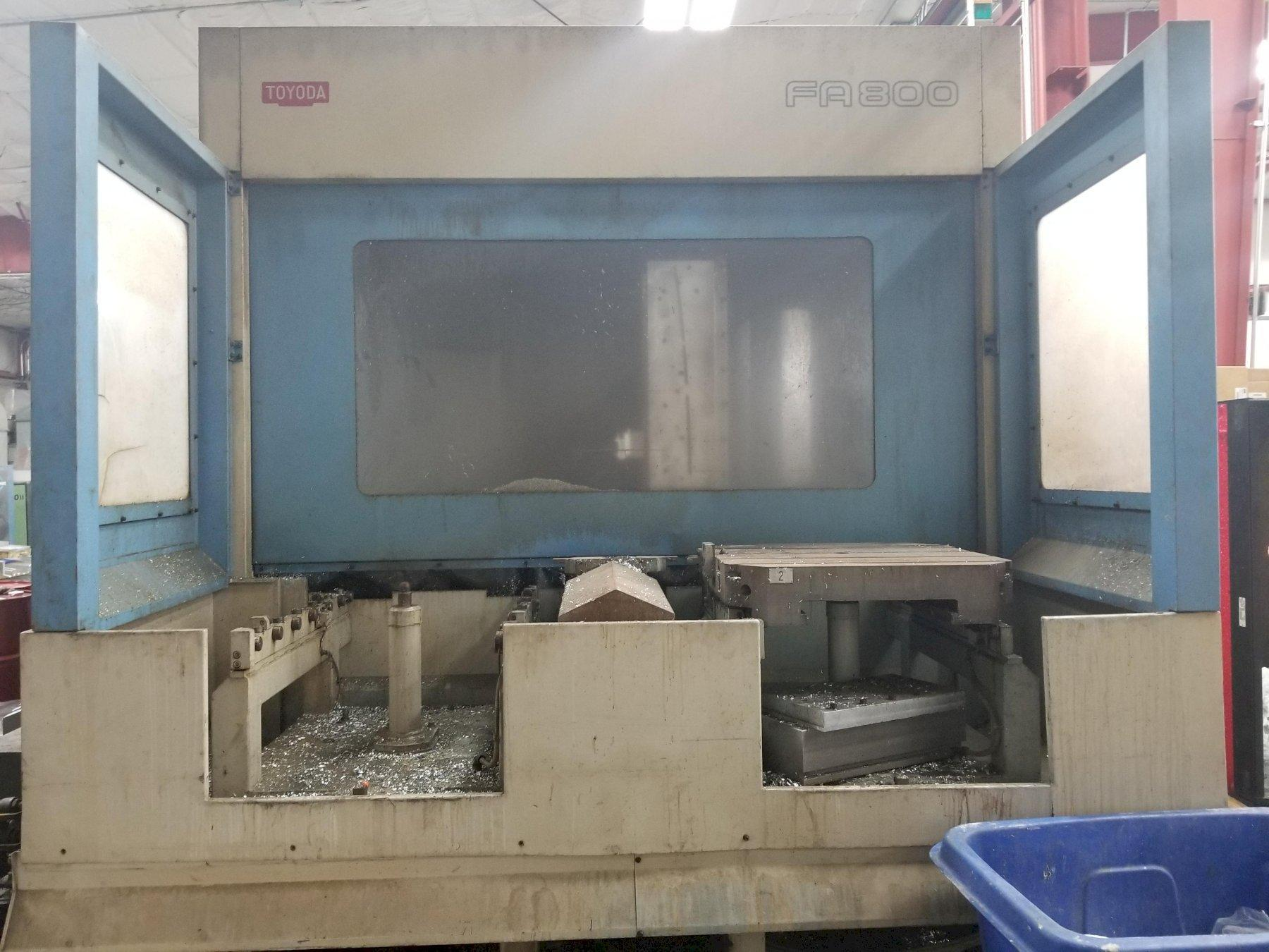 1998 TOYODA FA800 - Horizontal Machining Center