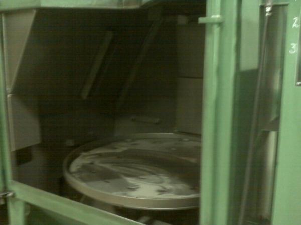 GOFF 48TB TABLE SHOT BLAST MACHINE. STOCK # 2000920