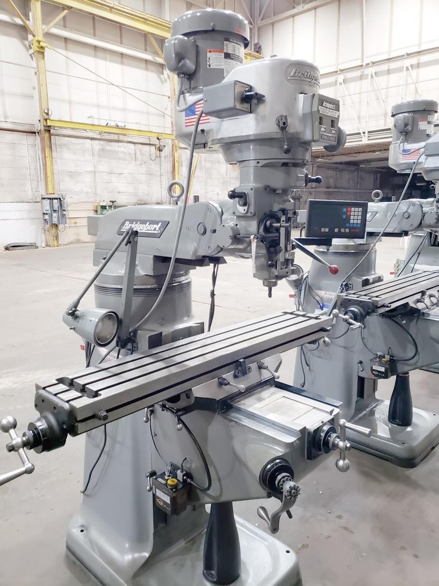 Bridgeport Series I Standard Vertical Knee Mill