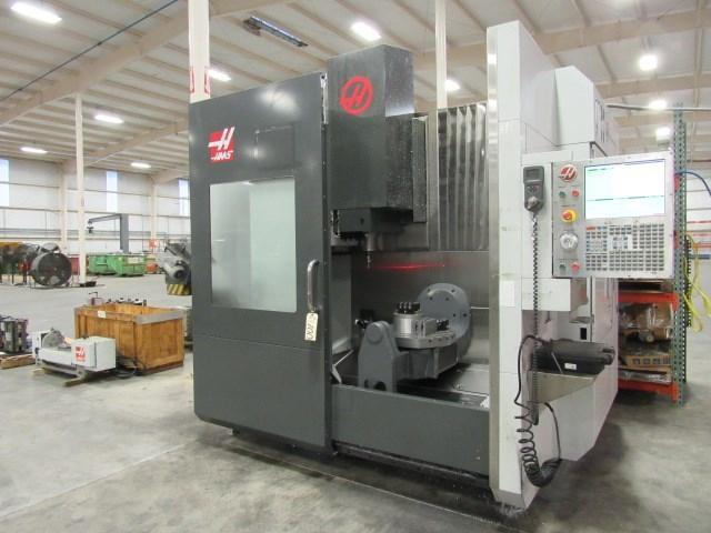 "HAAS UMC750 5-Axis, Model UMC750, Haas 5-Axis CNC Control, X=30"", Y=20"" , Z=20"", A=155 Degrees, B=360 Degrees, 40 Station Tool Changer, 8100 RPM, Probes, New 2014."