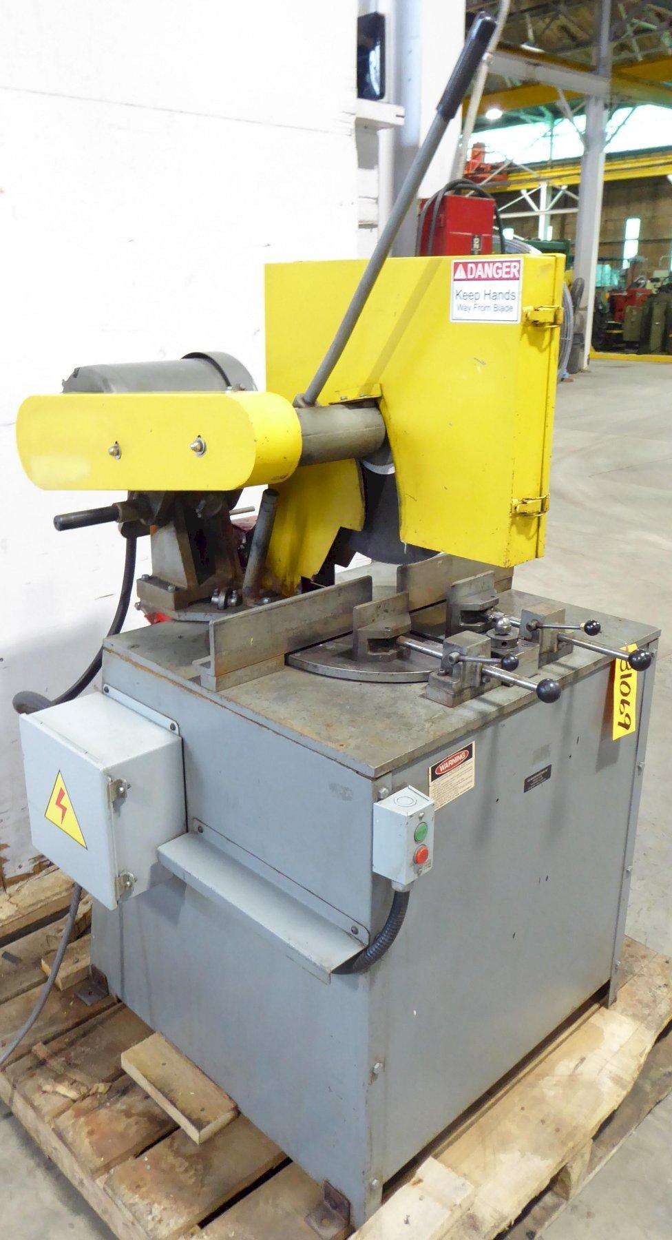 16″/18″ Kalamazoo Abrasive Saw KM16-18, Miter, 3″ Solids, 10 HP