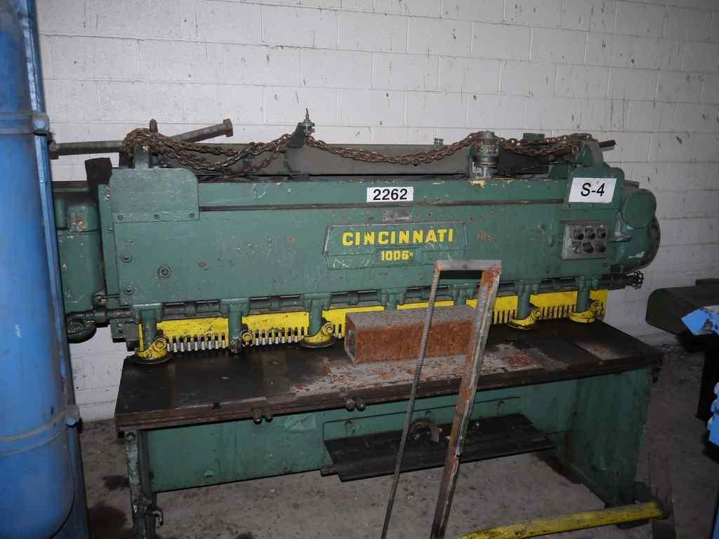 "0.135"" x 6' Cincinnati Power Sq. Shear"