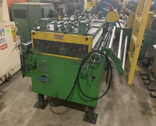 "COE PRESS Servo Roll Feed-Straightener Combination 72"" Wide"