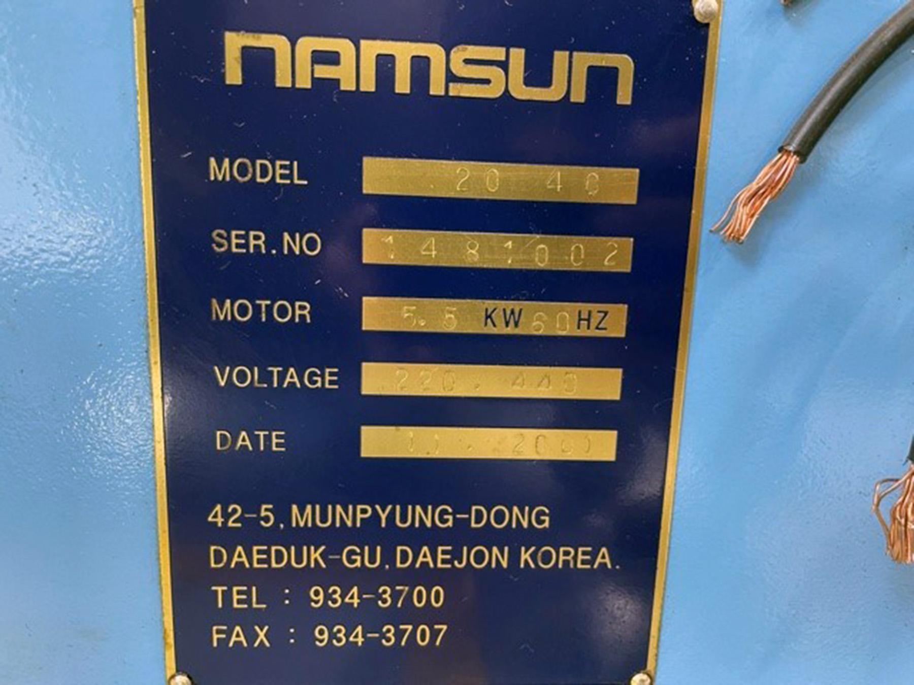 "USED, 20"" X 40"" BIRMINGHAM (KOREA) HEAVY DUTY TOOL ROOM LATHE"