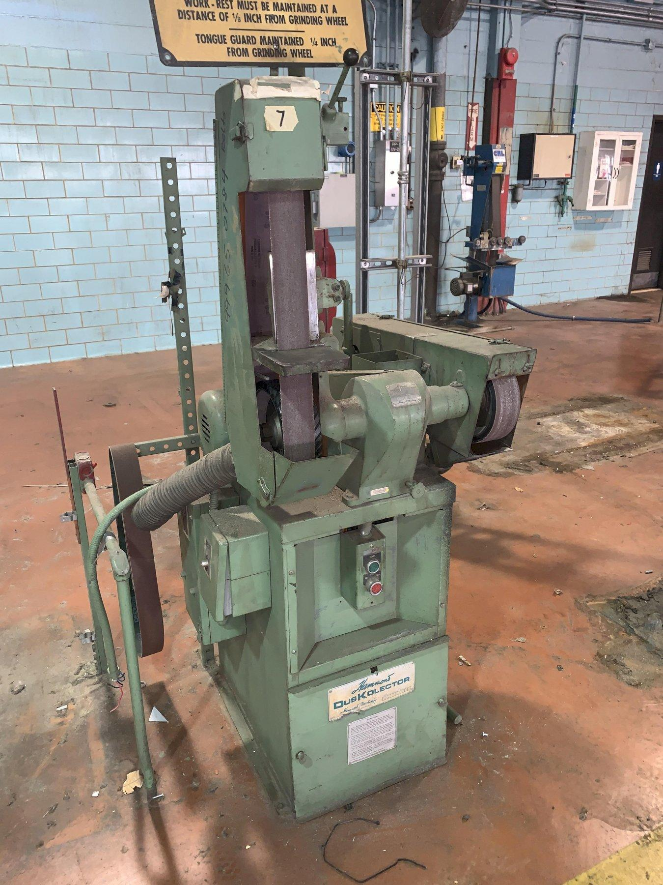 HAMMOND BELT GRINDER: STOCK#12623