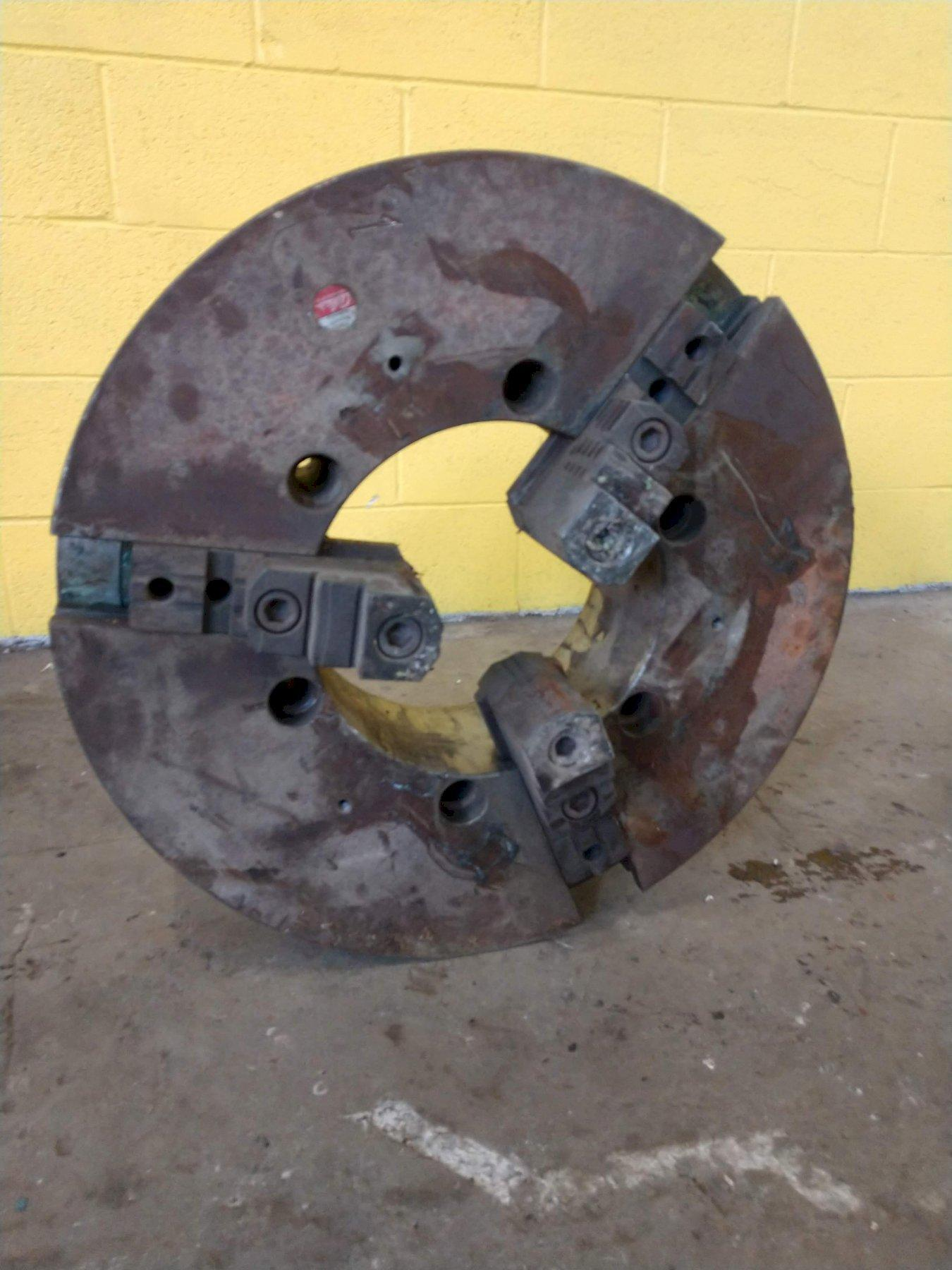 "25"" SUMMIT 3 JAW WITH 11"" HOLLOW SPINDLE LATHE CHUCK: STOCK #12929"