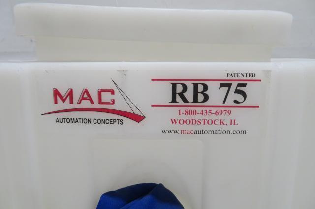 Mac Automation Concepts RB75 Bin, 81lb capacity