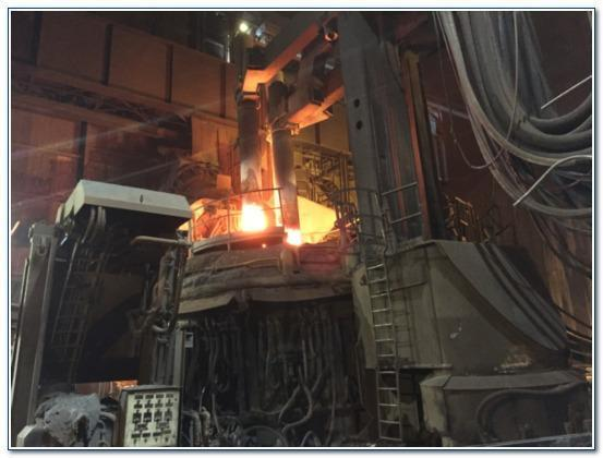 6587mm VAI ELECTRIC ARC FURNACE   Our stock number: 113127