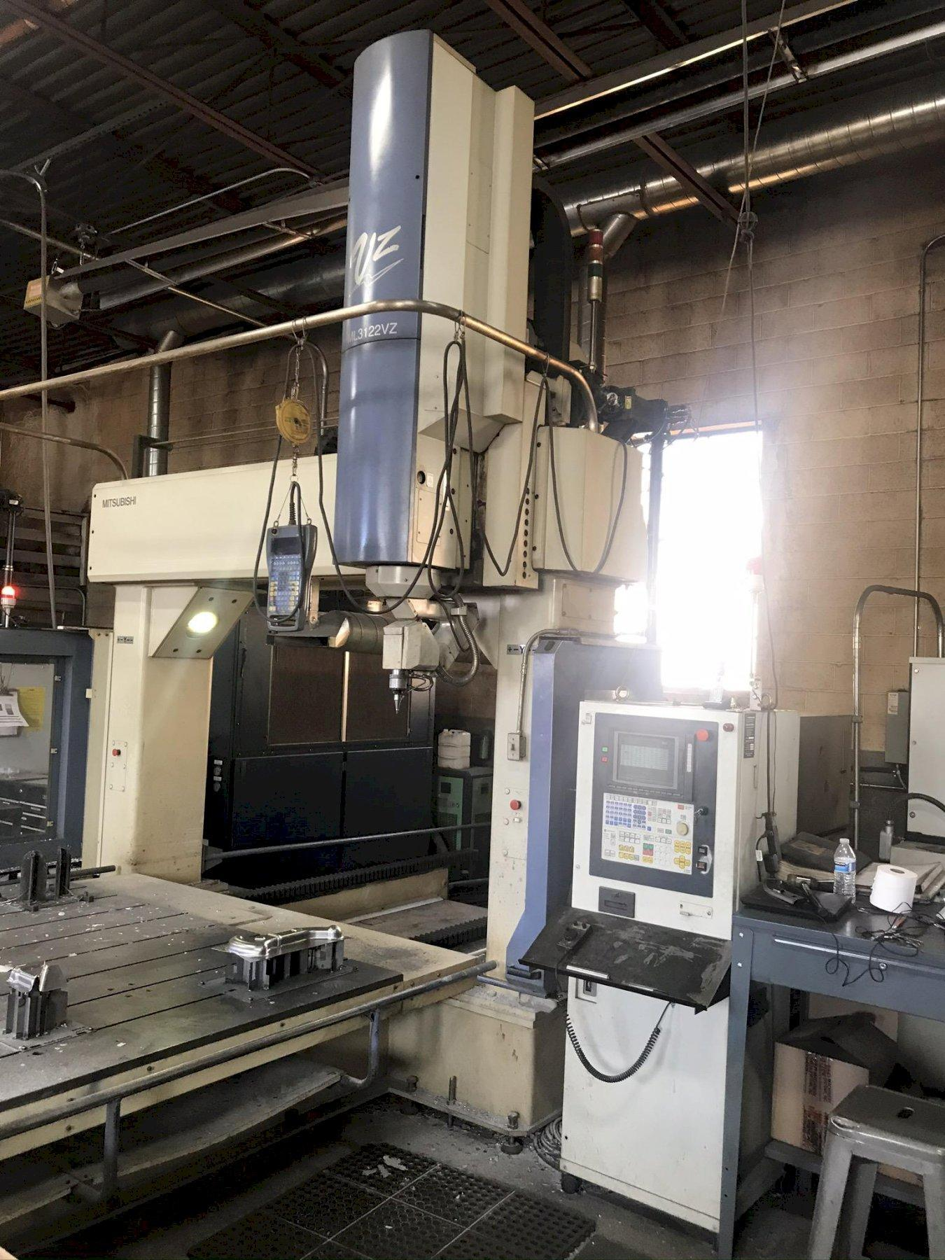 USED MITSUBISHI 5-AXIS CNC CO2 LASER MODEL ML3122 VZ (VZ1), Year 2001, Stock # 10718