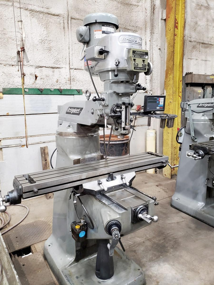 Bridgeport Series I Standard Vertical Knee Mill, 2002