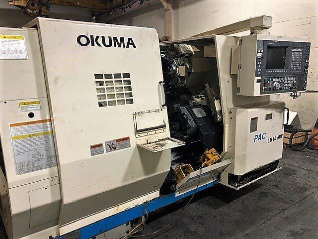 Okuma Model LU-15II/MW 5-Axis CNC Lathe