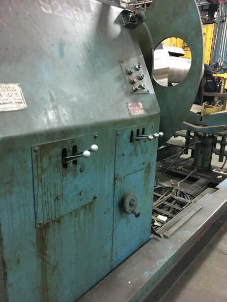 "20,000 Lb X 48"" American Steel Line  UNcoiler"