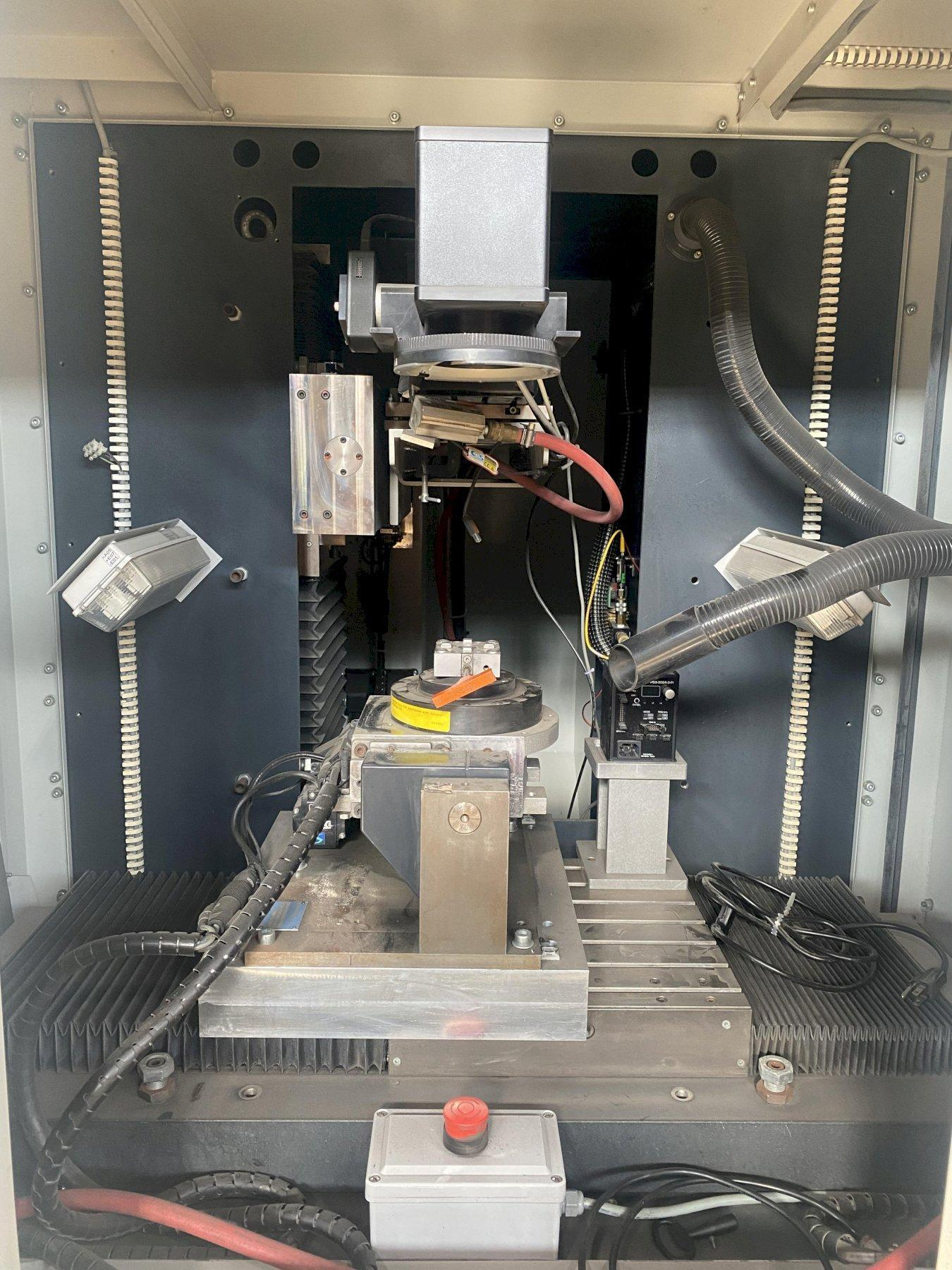 "FOBA GP9000 CNC LASER ENGRAVING/ MARKING MACHINE, PC-Based CNC Control, Travels X=19.69"", Y=19.69"", Z= 19.69"", 4.72"" x 4.72""² Engraving Field, 100W YAG Laser, New 2011."