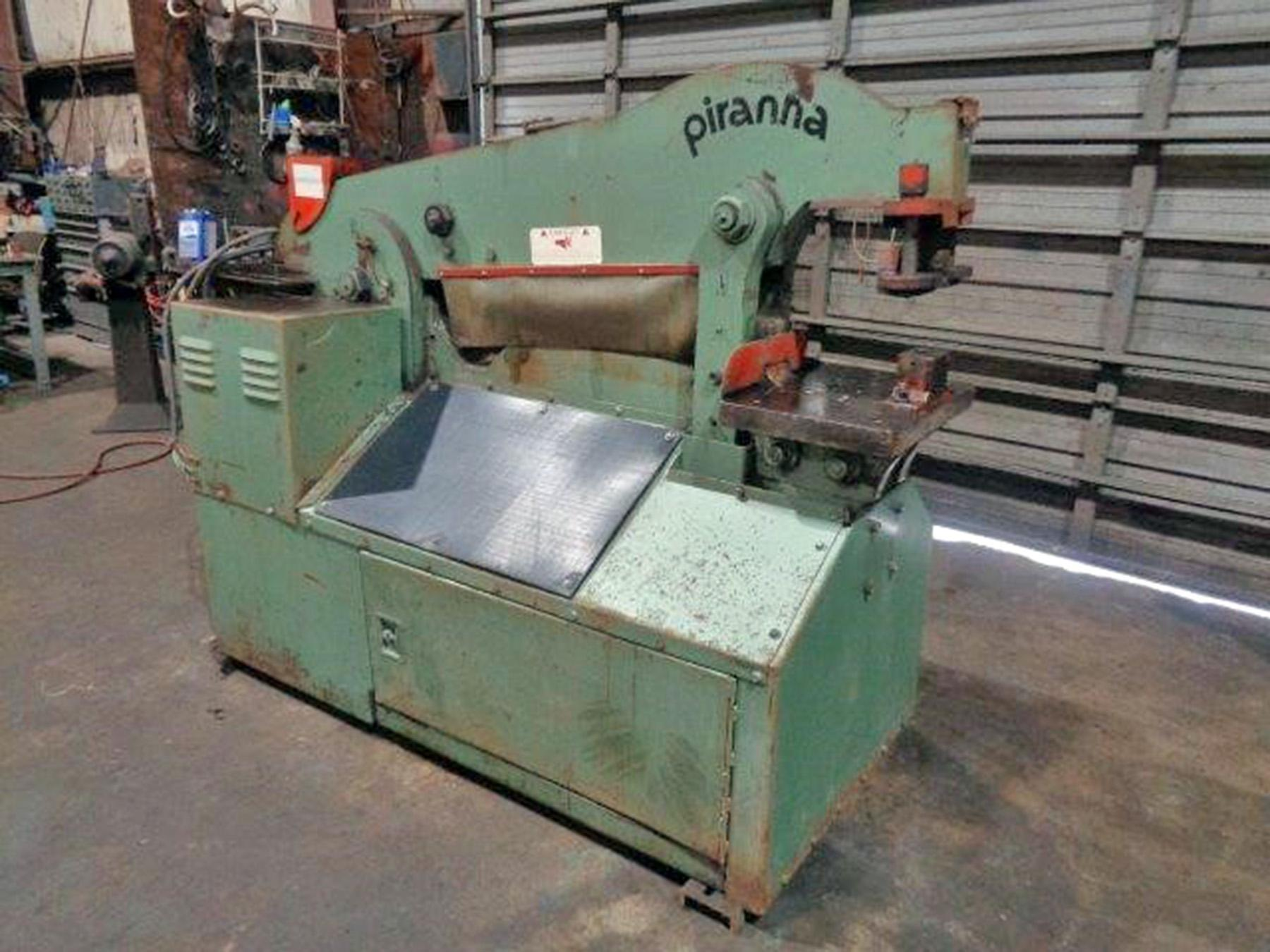 USED, 90 TON PIRANHA MODEL P-90 IRONWORKER