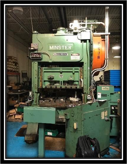 Minster P2-100-48 Straight Side Press,  Used