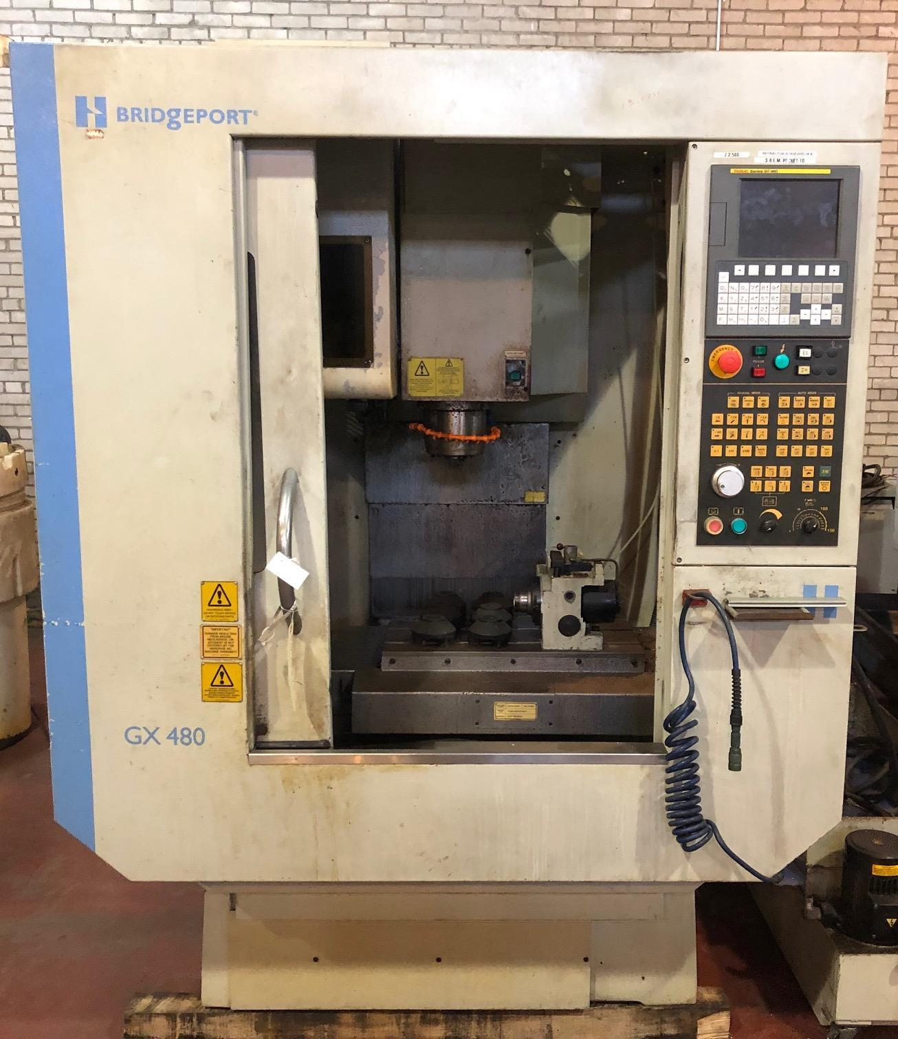 Hardinge GX480 CNC Vertical Machining Center w/ 4th Axis