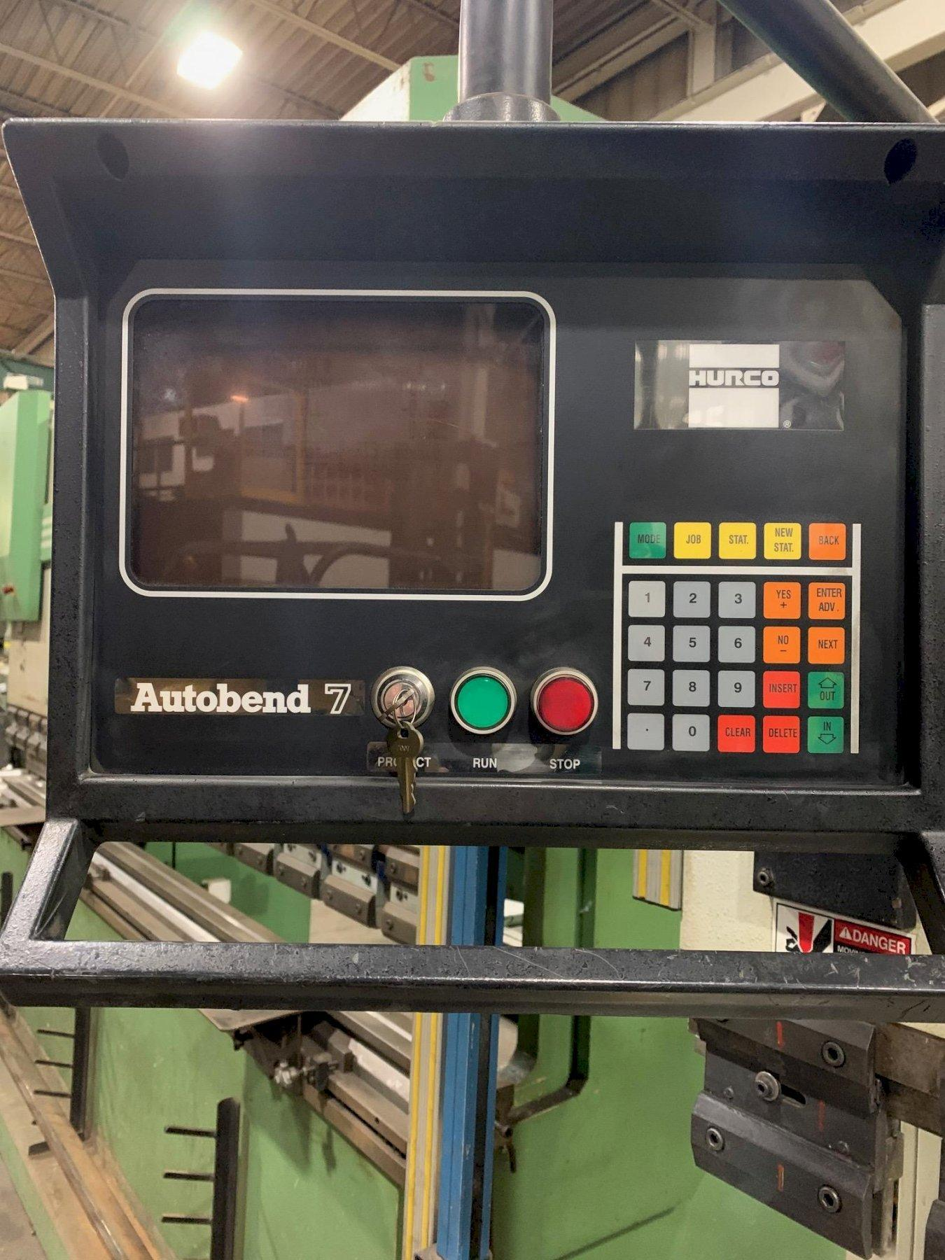 "USED HURCO MODEL PH 40-20, 82"" x 44 TON HYDRAULIC UPACTING 2-AXIS CNC PRESS BRAKE, Year 1998, Stock #10689"