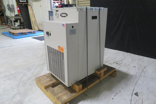Sterling Used SMCA050 Air Cooled Portable Chiller, 1/2 ton, Yr. 2015, 230V