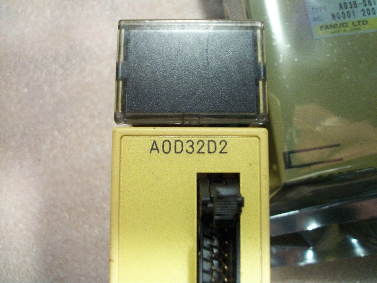 FANUC IO MODULE A0D32D2,  A03B-0819-C167