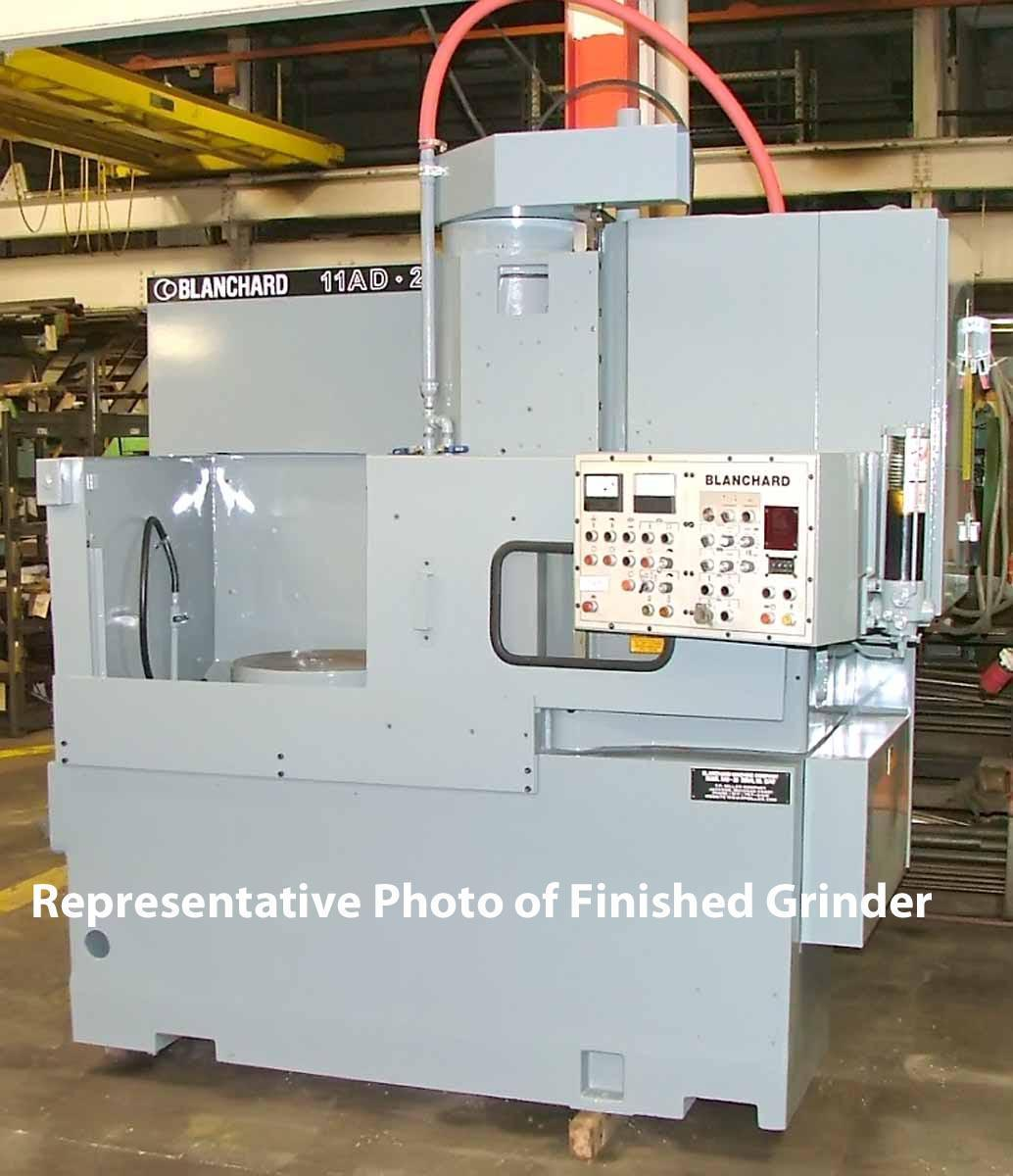 "Blanchard #11AD-20, 20"" Vertical Rotary Surface Grinder, Remanufactured W/ Warranty"