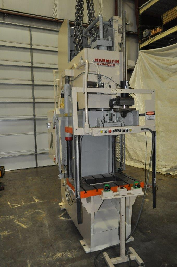 38 Ton Hannifin C Frame Hydraulic Press