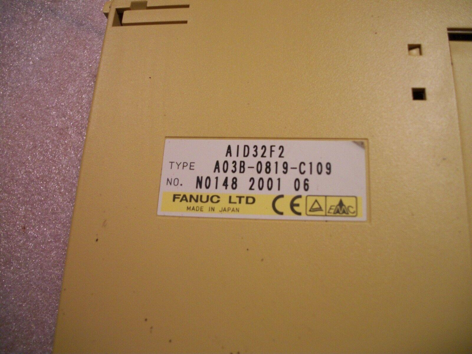 Fanuc IO Module AID32F2 A03B-0819-C109