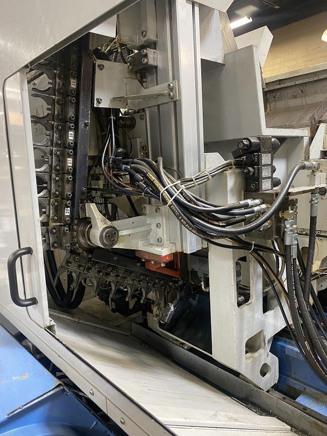 "MAZAK INTEGREX 100-IISY, Mazatrol 640MT CNC Control, 18"" Max Swing, 30"" Centers, ATS Collet Chuck on Main & Sub Spindle, 5000 RPM Main, 6000 RPM Subspindle, 10,000 RPM Milling Spindle, B-Axis, C-Axis, Y-Axis, TSC, 40 ATC, New 2005."