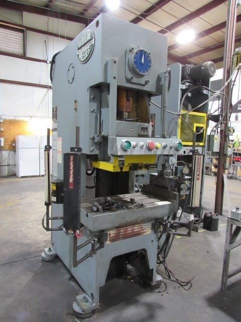 66 TON SUTHERLAND MODEL FCP-60 OBS GAP FRAME PRESS