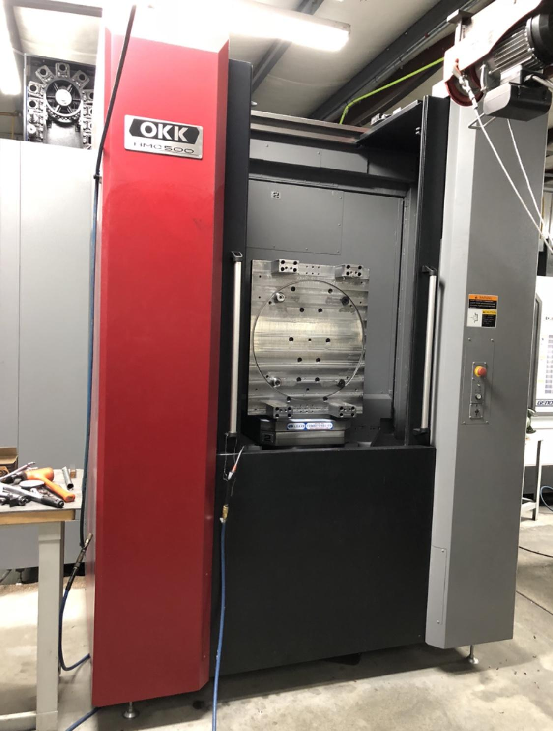 2017 OKK HMC 500 - Horizontal Machining Center