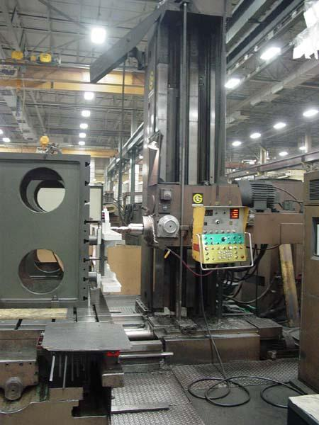 """5"""" Giddings & Lewis Table Type Horizontal Boring Mill"""