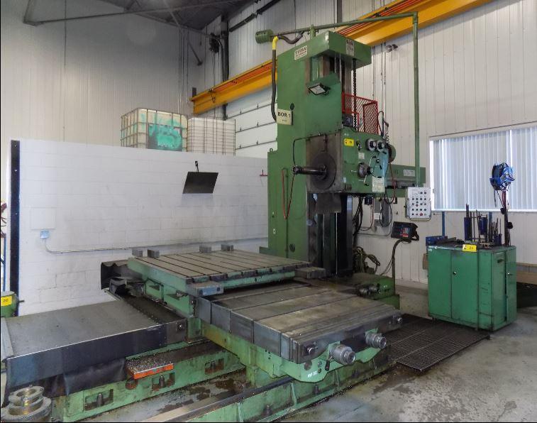 "4.1"" Titan AFD105-H  Horizontal Boring Mill"