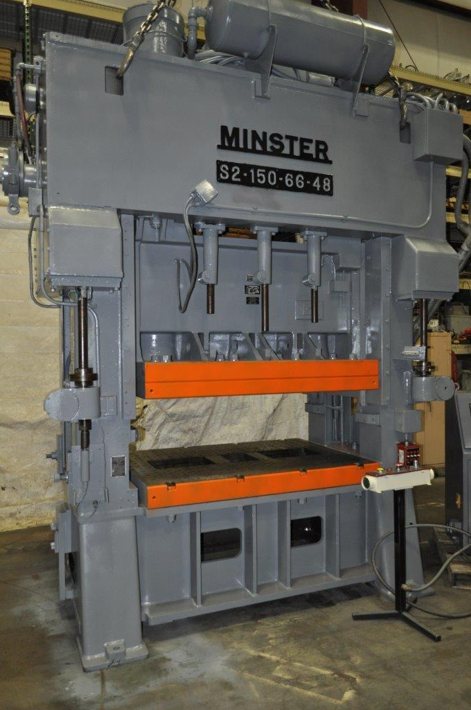 150 TON MINSTER SSDC PRESS
