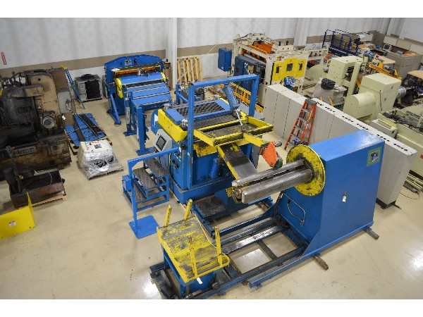 (S) Coe Press Complete Cut To Length Coil Line 20,000 Lbs. x 54